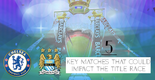 5 key matches that could impact the title race